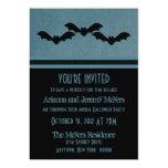 El fiesta espeluznante de Halloween de los palos Invitación