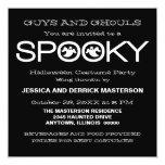 El fiesta fantasmagórico de Halloween de la Invitaciones Personalizada