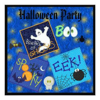 El fiesta fantasmagórico de Halloween de los Invitaciones Personales