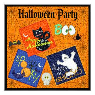 El fiesta fantasmagórico de Halloween de los remie Invitacion Personalizada