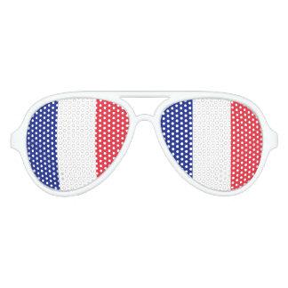El fiesta francés de la bandera sombrea el orgullo lentes de sol