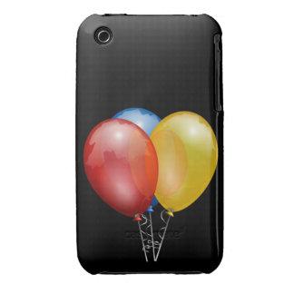 El fiesta hincha la caja de la casamata de la Case-Mate iPhone 3 funda