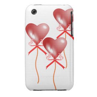 El fiesta hincha la caja de la casamata de la Case-Mate iPhone 3 protector