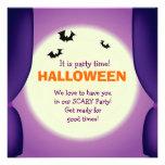 El fiesta ilustrado del niño de Halloween invita Comunicado Personal