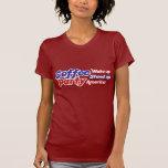 El fiesta los E.E.U.U. del café despierta se Camisetas