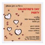 El fiesta manchado del el día de San Valentín de K Comunicados Personales