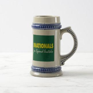 El fiesta nacional (nacionales) 2013 jarra de cerveza