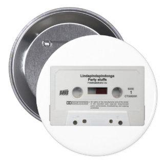 el fiesta rellena el botón del mixtape pin