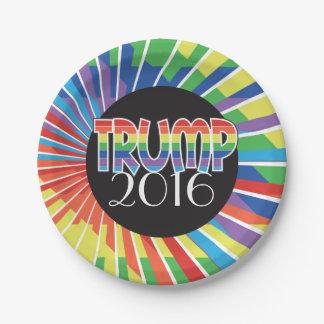 El fiesta temático del TRIUNFO 2016 suministra el Platos De Papel