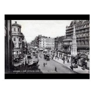 El filamento, vintage de Londres Inglaterra Postal