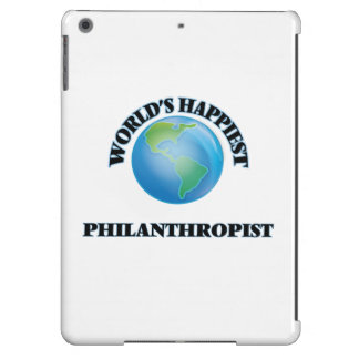 El filántropo más feliz del mundo funda para iPad air