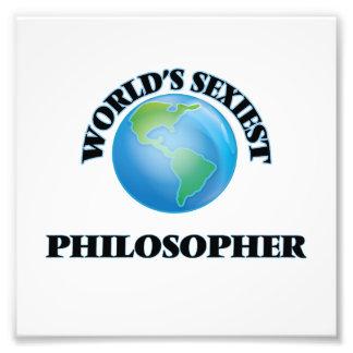 El filósofo más atractivo del mundo impresiones fotográficas