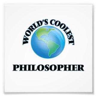 El filósofo más fresco del mundo arte fotografico