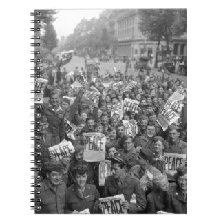 El final de WW2 Libreta