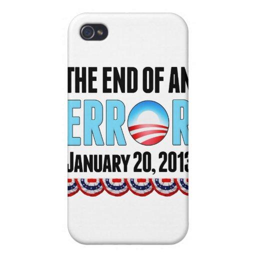 El final error del 20 de enero de 2013 Obama iPhone 4 Carcasas
