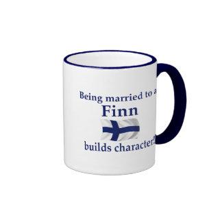 El Finn construye el carácter Taza A Dos Colores
