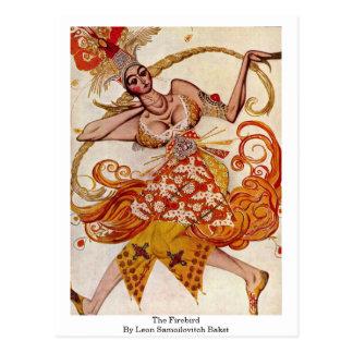 El Firebird por León Samoilovitch Bakst Postal
