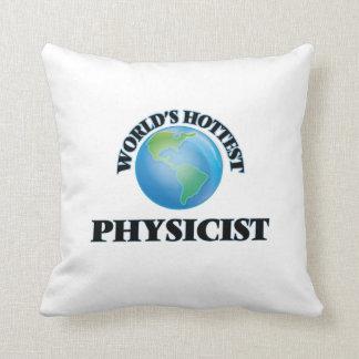 El físico más caliente del mundo cojin