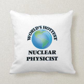 El físico nuclear más caliente del mundo cojines