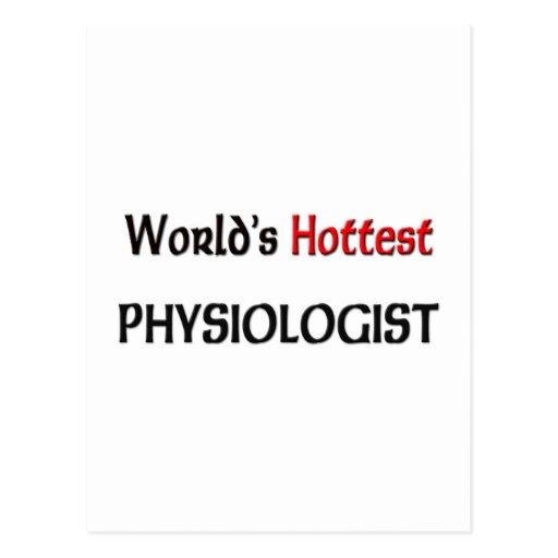 El fisiólogo más caliente de los mundos postal