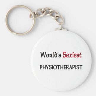 El fisioterapeuta más atractivo del mundo llaveros personalizados