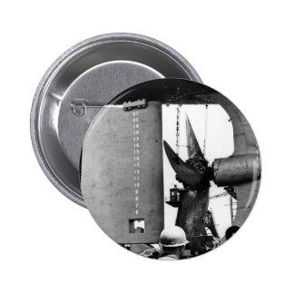 El Fitz poderoso - timón y apoyo Pins