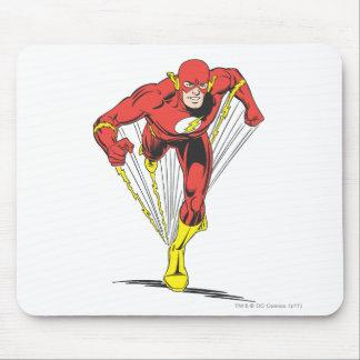El flash corre adelante alfombrillas de ratón