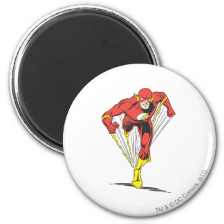 El flash corre adelante imán redondo 5 cm