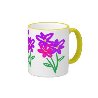 El Fling de la primavera florece la taza