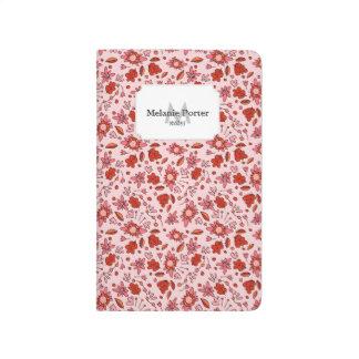 El Flittering floral Cuadernos Grapados