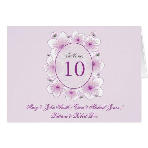El flor de la lavanda florece la tarjeta romántica