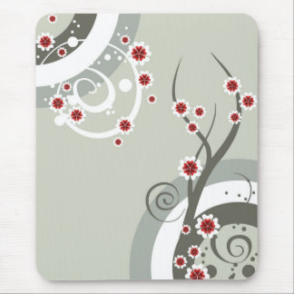 El flor florece el mousepad tapete de ratón
