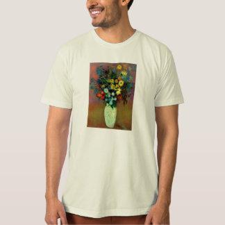El florero de Odilon Redon con Flowers (1914) Polera