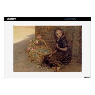 El florista, 1872 (aceite en lona) 38,1cm portátil calcomanía
