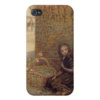 El florista, 1872 (aceite en lona) iPhone 4/4S carcasas