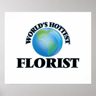 El florista más caliente del mundo posters