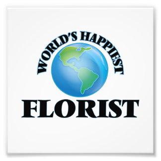 El florista más feliz del mundo fotos