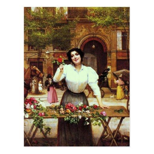 El florista - Pearce Tarjetas Postales