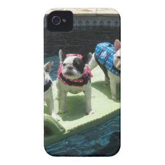 El flotador de la piscina de Pieds de la luna iPhone 4 Carcasas