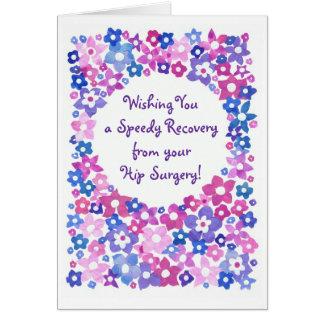 El flower power consigue la tarjeta de felicitac