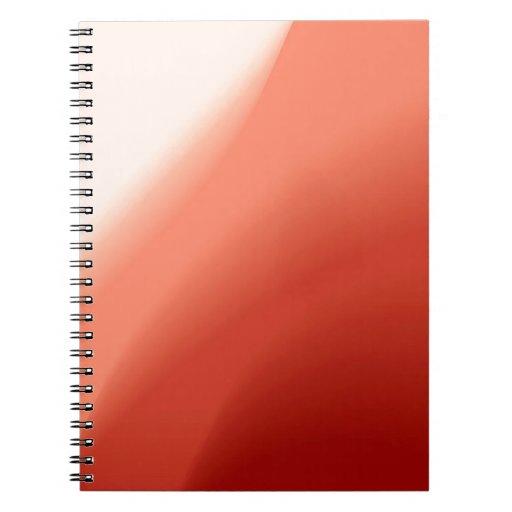 El fluir abstracto de los colores libro de apuntes