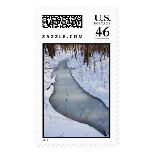 el fluir congelado sello