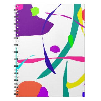 El fluir del norte al sur con la otra especie spiral notebook