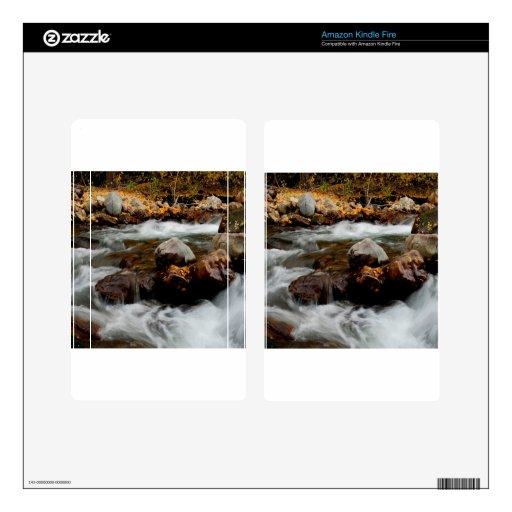 El fluir del río del agua Seaward Skin Para Kindle Fire