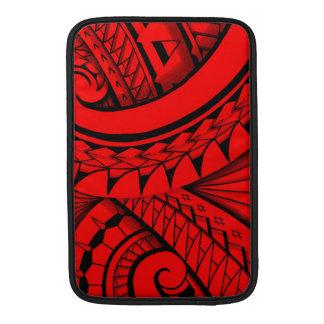 el fluir diseño swirly tribal del tatuaje funda  MacBook