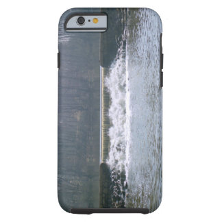 El fluir encima funda resistente iPhone 6