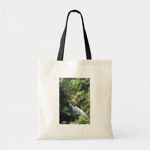 El fluir entre los árboles bolsas lienzo