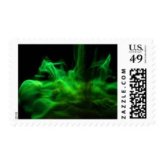 El fluir/fluoresceína en agua franqueo