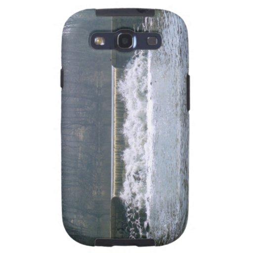 El fluir sobre la caja de la galaxia de Samsung de Samsung Galaxy S3 Protector