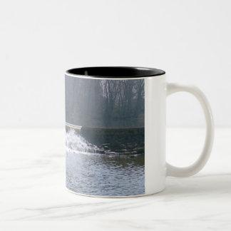 El fluir sobre la taza de café